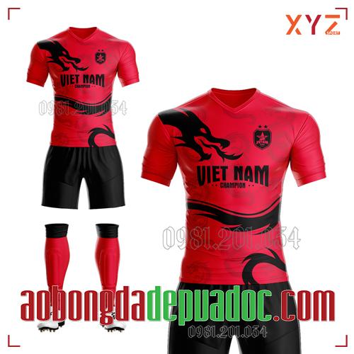 Áo Việt Nam 2020 Training 1 Màu Đỏ Đẹp Và Độc