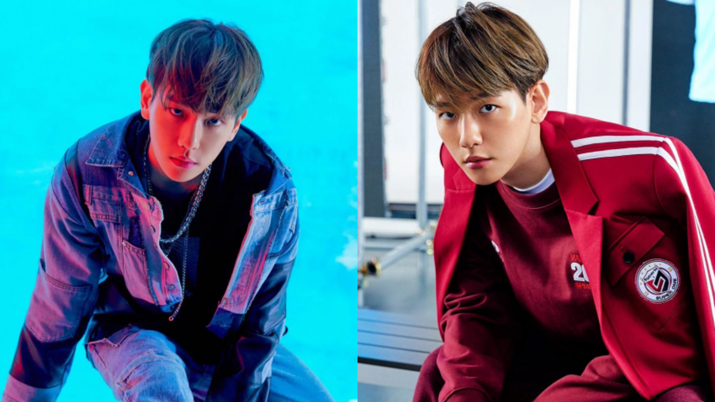 Baekhyun Looks Chic And Manly on SuperM's Individual Teaser Photos for 'Super One'