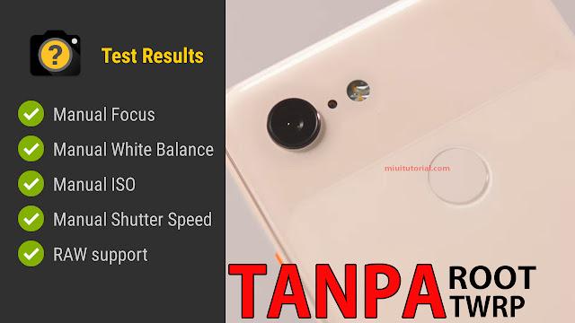 Aktifkan Camera2API di Xiaomi Mi A1, Mi A2, dan Mi A2 Lite Tanpa Root? Google Camera Sukses 100%