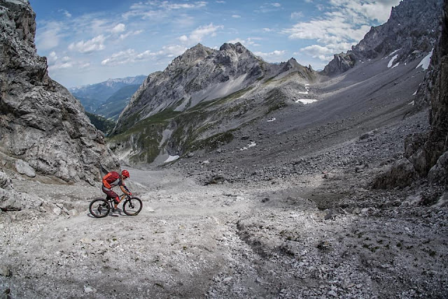Track GPS MTB - Mountainbike Tour Grünsteinscharte