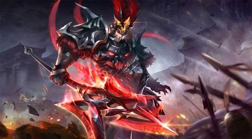 Lữ Bố cướp trọn tình yêu của gamer từ ngoại hình tới những pha ra đòn thế với cả khả năng hút máu nữa