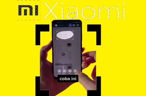 Begini Cara Screenshot HP Xiaomi Pada Bagian Tertentu Saja