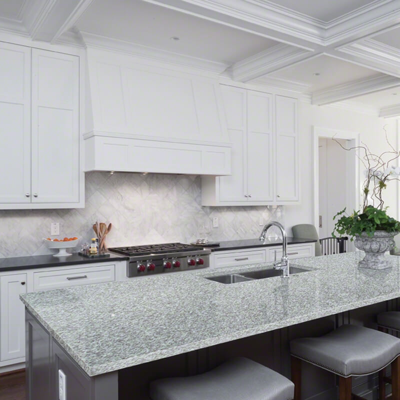 White Rose Granite Countertops