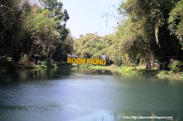 Manfaatkan Embung Boon Pring untuk Ekowisata