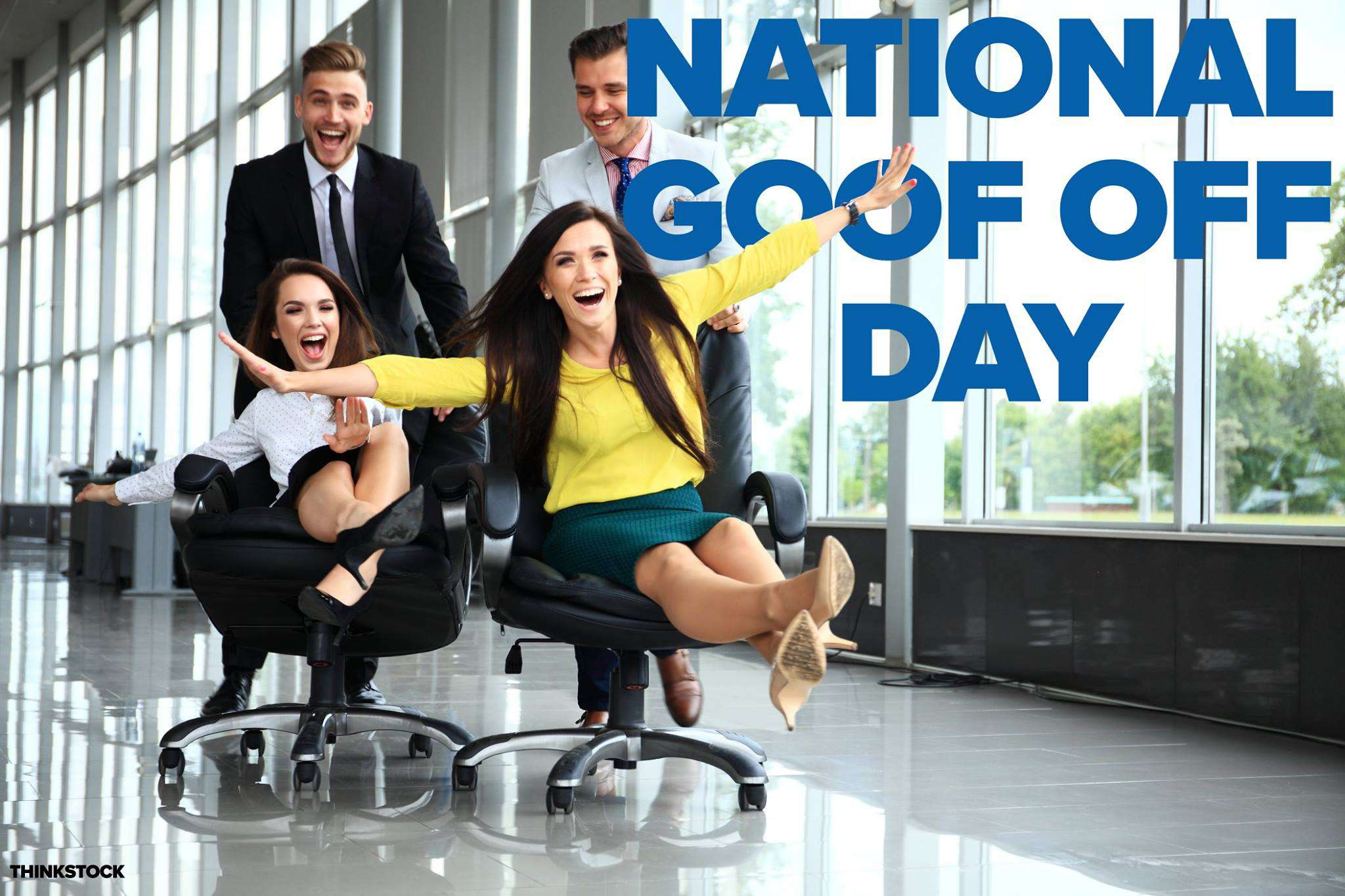 National Goof Off Day Wishes for Instagram