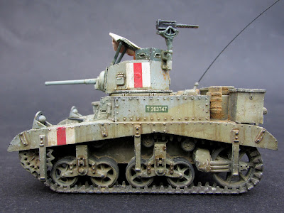 Warlord Games 28mm 1/56 Stuart Review