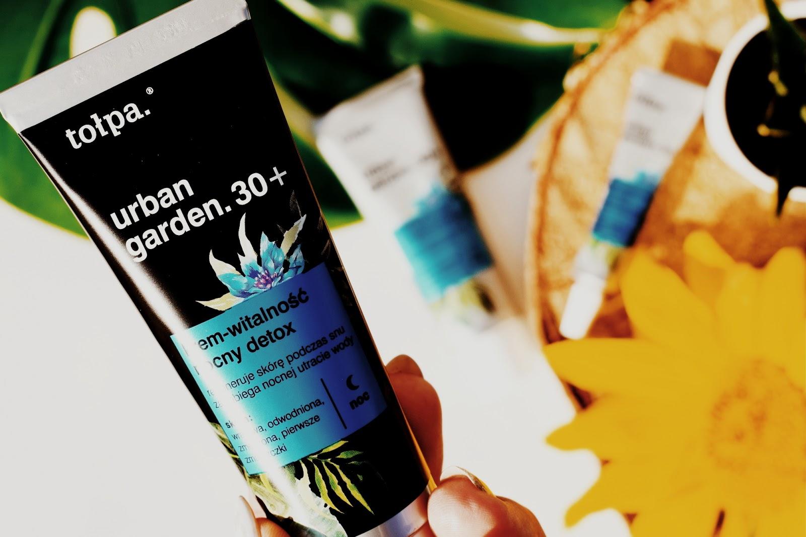 Linia kosmetyków Urban Garden marki Tołpa