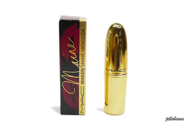 MAC Maker Maine Mendoza Matte Lipstick @mainedcm | Review
