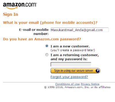 cara mendaftar affiliate amazon