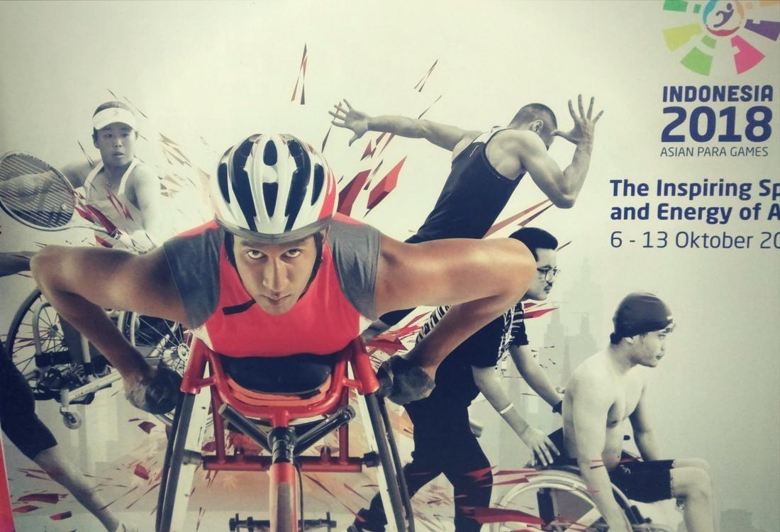 Asian Para Games 2018 - Lagu Garuda di Dadaku Berkumandang di Venue Bulu Tangkis