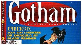 Gotham, revue moderne de la BD sur yaka-chiner.be