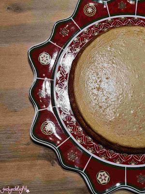 weihnachtlicher Spekulatius Cheesecake - Weihnachtsdessert