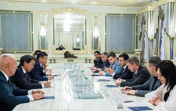 Зеленський зробив бізнес-пропозицію главі Alibaba