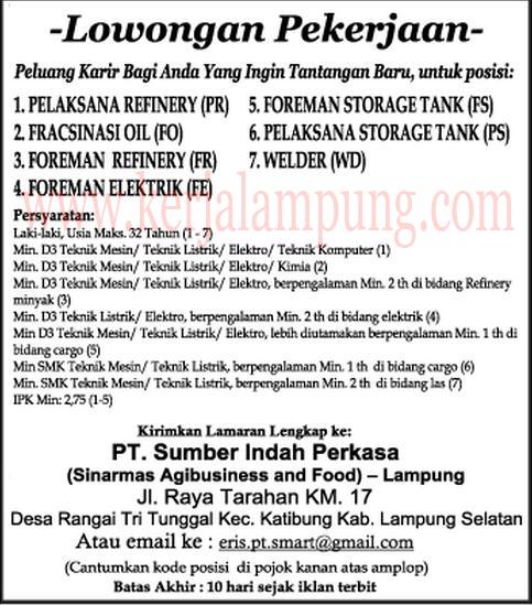 Info Lowongan Tambang Indonesia 2013 Lowongan Kerja Tambang 20132fpage Info Lowongan Terbaru Lowongankerjaptsumberindahperkasalampungjuni2013 Lowongan