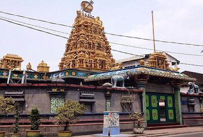 Lokasi Kampung Keling/Kampung Madras Medan