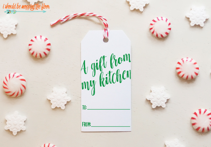 Free Printable Tags for Christmas Food Gifts
