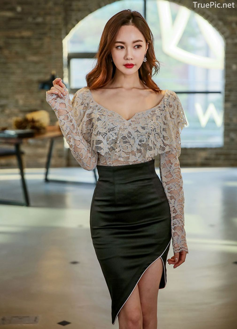 Korean Fashion Model - Hyemi - Indoor Photoshoot Collection - TruePic.net - Picture 2