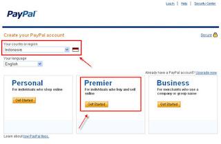 Cara Mendaftar Akun Paypal dan Verifikasi akun Paypal Gratis