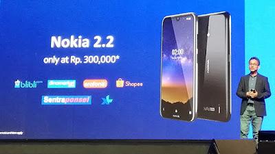 Promo Nokia 2.2