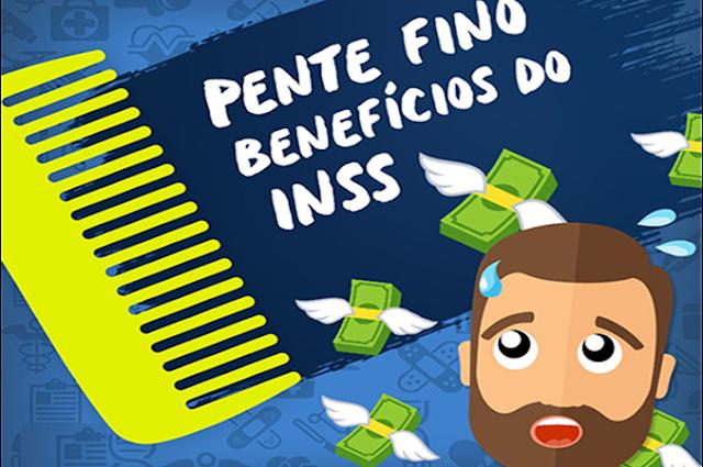 INSS vai passar Pente-Fino em Três Milhões de Benefícios