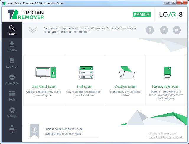 Screenshot Loaris Trojan Remover 3.1.19.1430 Full Version