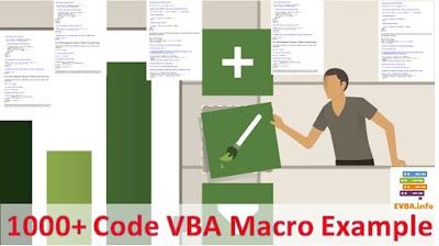 [Free Ebook]1000+ Code Excel Visual Basic Macro Examples VBA 2020