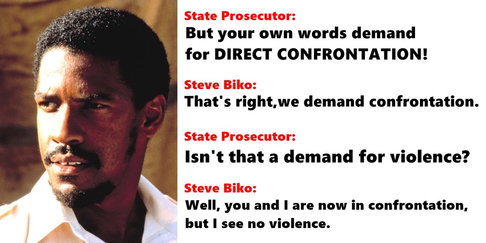 the role of steve biko in What role did steve biko and black conciousness play in bringing about a change in south africa in the 1970's for nearly 10 years in south africa , after the banning of political organisations and the rivonia trial in the early 60's ,there was political calm and no visible organised political activity among africans.