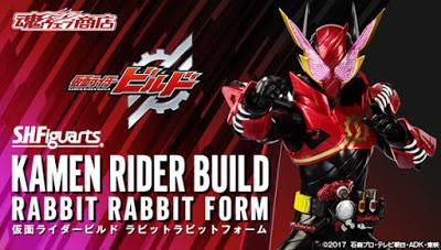 Kamen Rider Build: S.H.Figuarts Kamen Rider Build Rabbit Rabbit Form Official Images