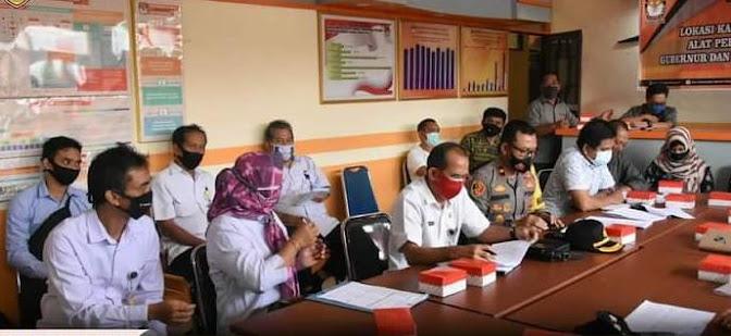 KPU Barut Bahas Lokasi Kampanye Pilkada