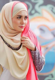 Model Hijab Elegan Masa Kini