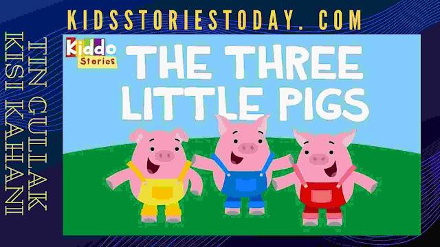 Three little pigs || तीन गुल्लक || Bedtime Stories for kids