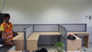 Cubicle Workstation Table Knockdown