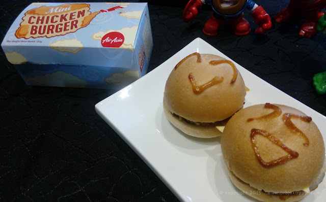 Burger Ayam Mini