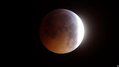 Gerhana Bulan Bisa Diamati Besok Dini Hari