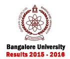 bangalore university result 2015 - 2016 sem 1 2 3 4 5 6