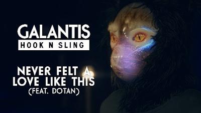 Never Felt a Love Like This Lyrics - Galantis & Hook N Sling