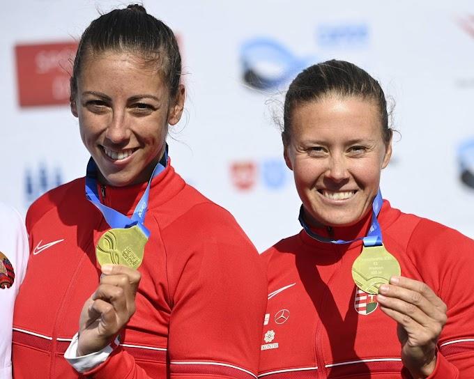 Aranyérmes a Kozák, Csipes duó K-2 500 méteren