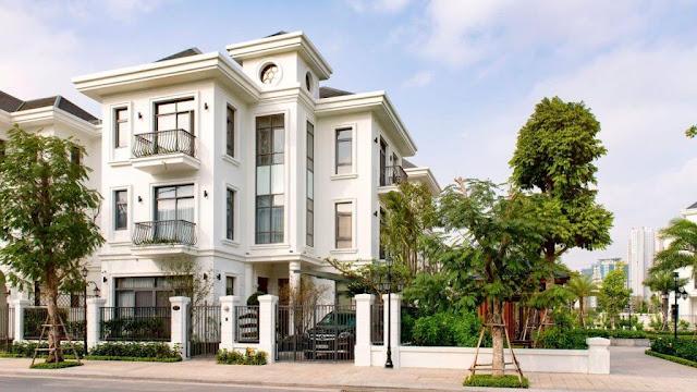 Phối cảnh dự án biệt thự Thanh Hà