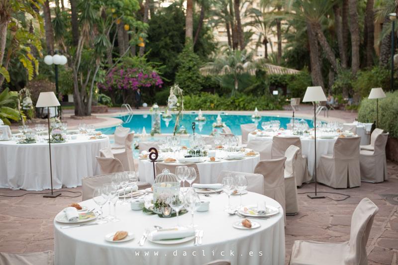 hotel huerto del cura boda dia