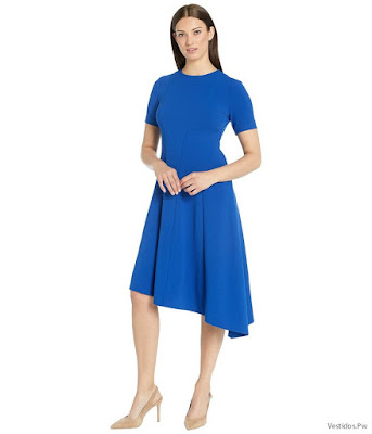 Vestidos Azules de Noche