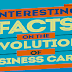 Interesting Facts On The Evolution Of Business Cards #infographic