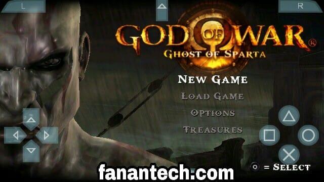 تحميل لعبة GOD OF WAR للاندرويد PSP بحجم صغير من ميديا فاير