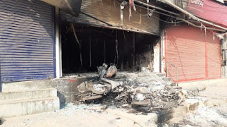 toko di india dibakar