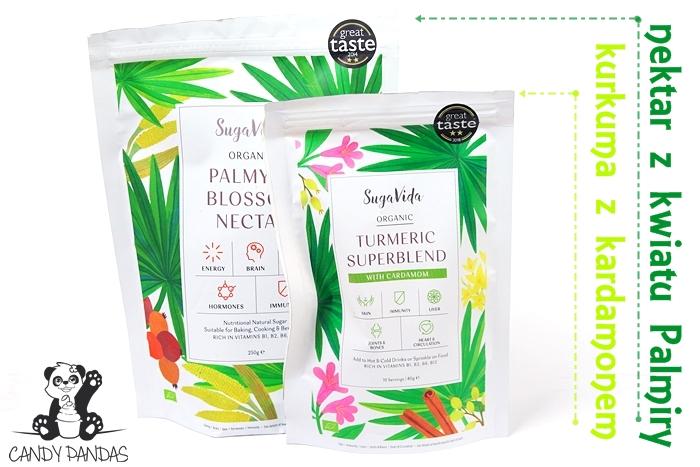 Kurkuma Superblend z kardamonem / nektar z kwiatu Palmiry - Siła Roślin