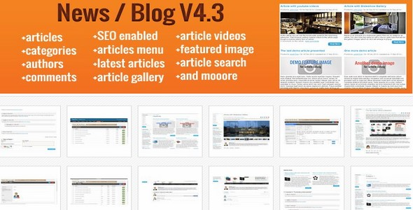 Blog / News v4.2 – extension for opencart