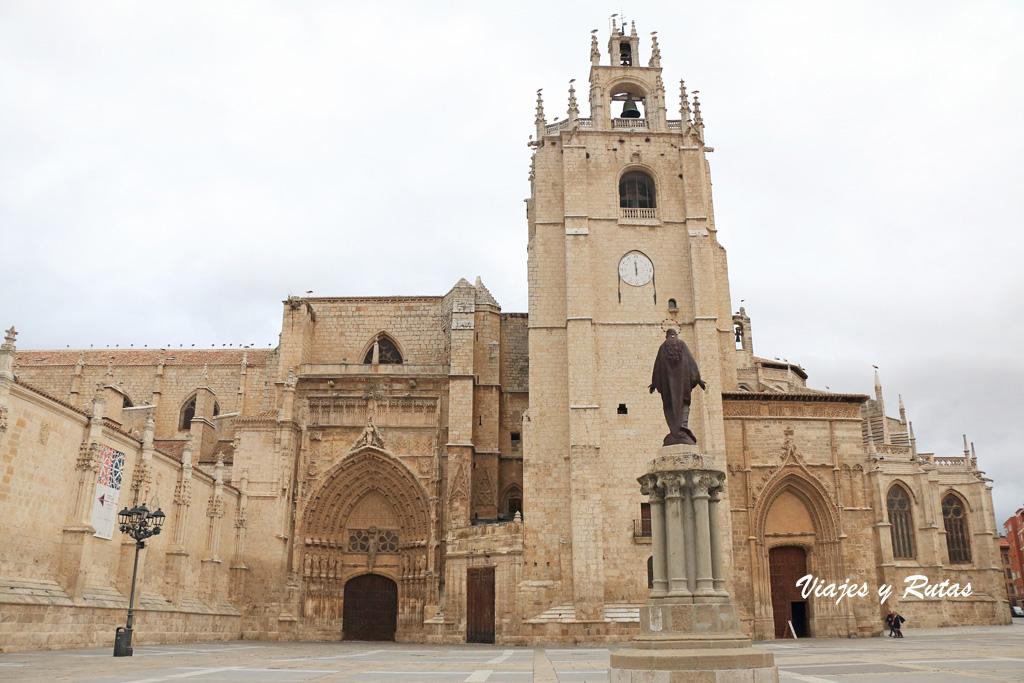 Catedral de Palencia, vista frontal