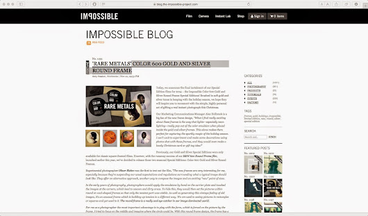 "IMPOSSIBLE | ""RARE METALS"" COLOR 600 GOLD AND SILVER ROUND FRAME"