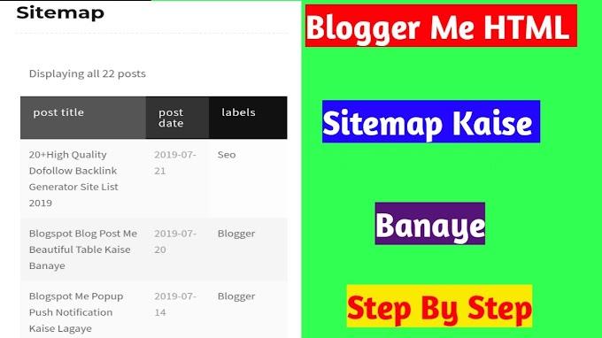 Learn Blogging, Wordpress, Seo, WebHosting, Adsence In Hindi