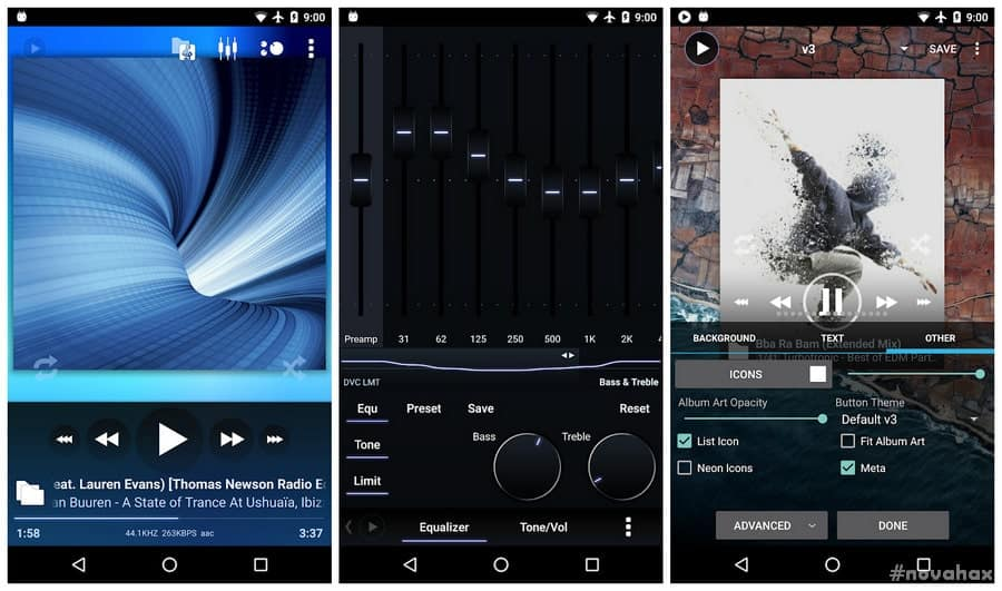 Poweramp Music Player 3 build 841 Cracked APK [Pro] | Novahax
