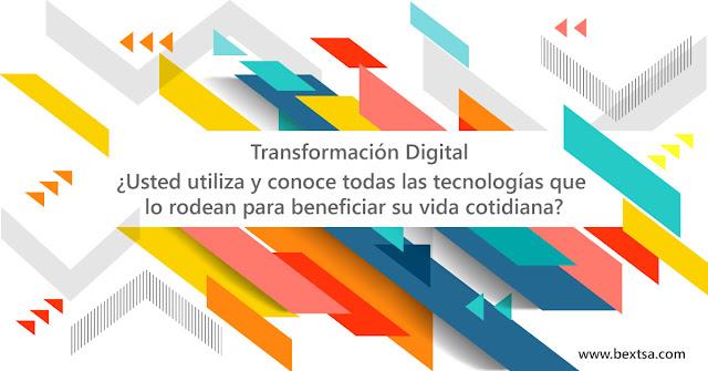 Transformación digital en la vida cotidiana